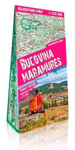 BUCOVINE, MARAMURES 1/250.000 (GB) (ADVENTURE MAP)