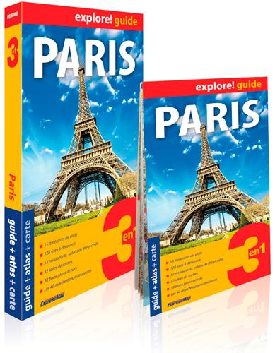 PARIS (EXPLORE! GUIDE 3EN1)