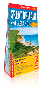 GRANDE BRETAGNE ET IRLANDE (GB)  1/950.000 (COMFORT !MAP, LAMINEE)