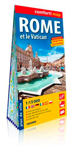 ROME ET LE VATICAN 1/15.000