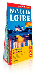 PAYS DE LA LOIRE 1/300.000 (CARTE GRAND FORMAT LAM