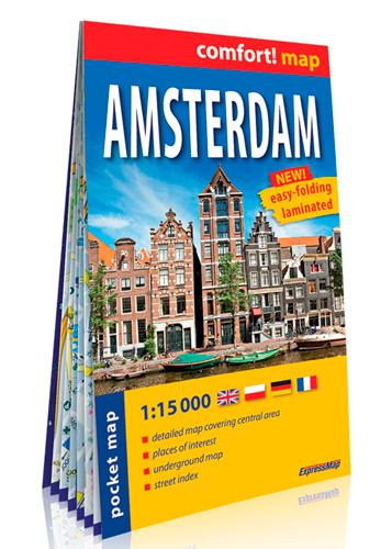 AMSTERDAM 1/15.000 (ANG) (CARTE FORMAT DE POCHE LA