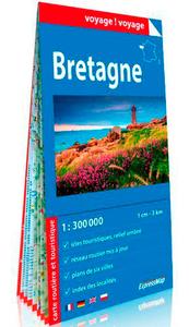 BRETAGNE 1/300.000 (CARTE EN PAPIER)