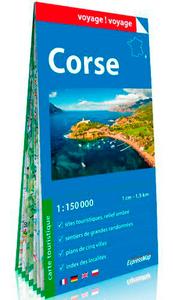 CORSE 1/150.000 (CARTE EN PAPIER)