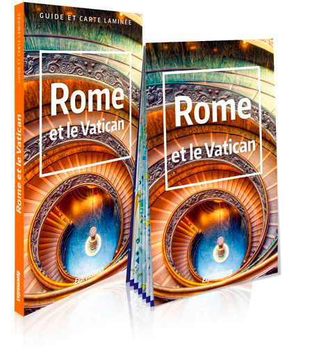 ROME ET LE VATICAN (GUIDE ET CARTE LAMINEE)