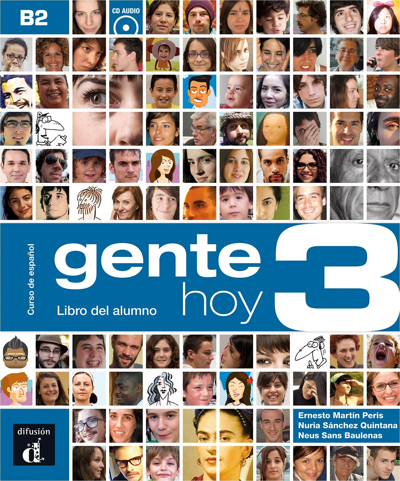 GENTE HOY 3 LIVRE DE L'ELEVE + CD