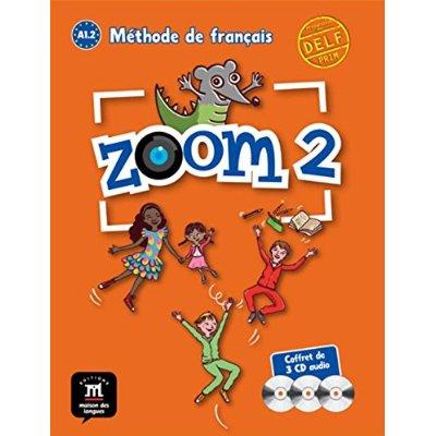 ZOOM 2 PACK 3 CD AUDIO CLASSE