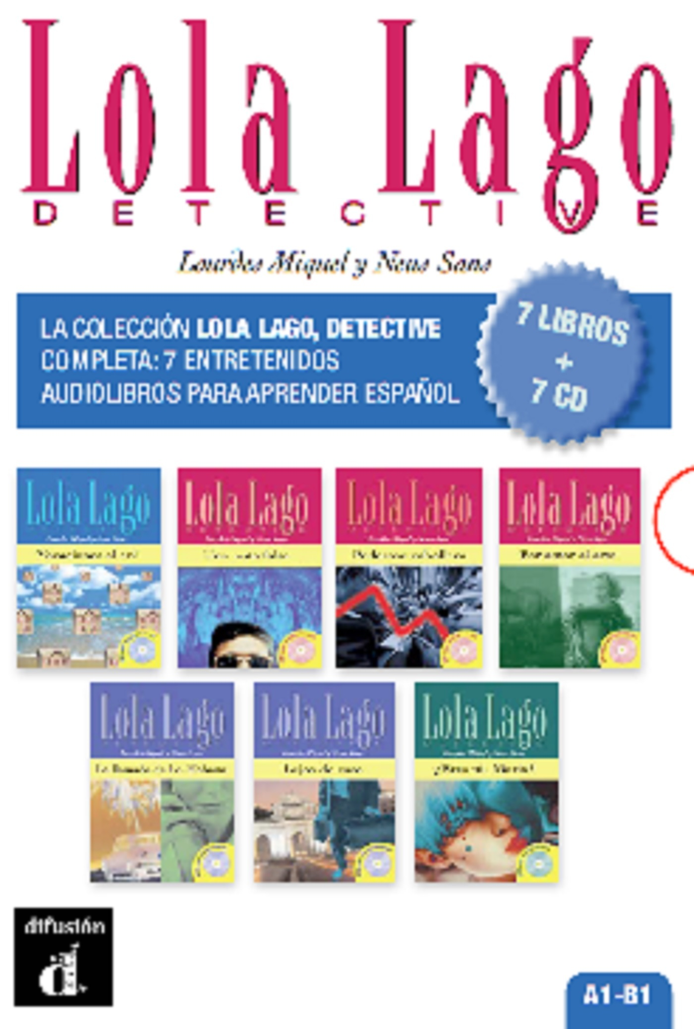 PACK LOLA LAGO 7 LECTURES + CD