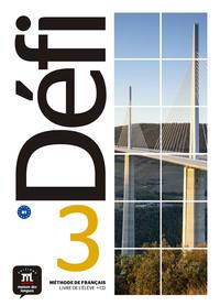 DEFI 3 - LIVRE DE L'ELEVE + CD