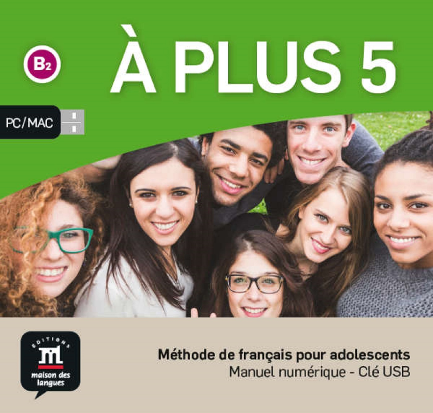 A PLUS 5 - CLE USB NED