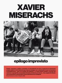 XAVIER MISERACHS EPILOGO IMPREVISTO /ANGLAIS/ESPAGNOL