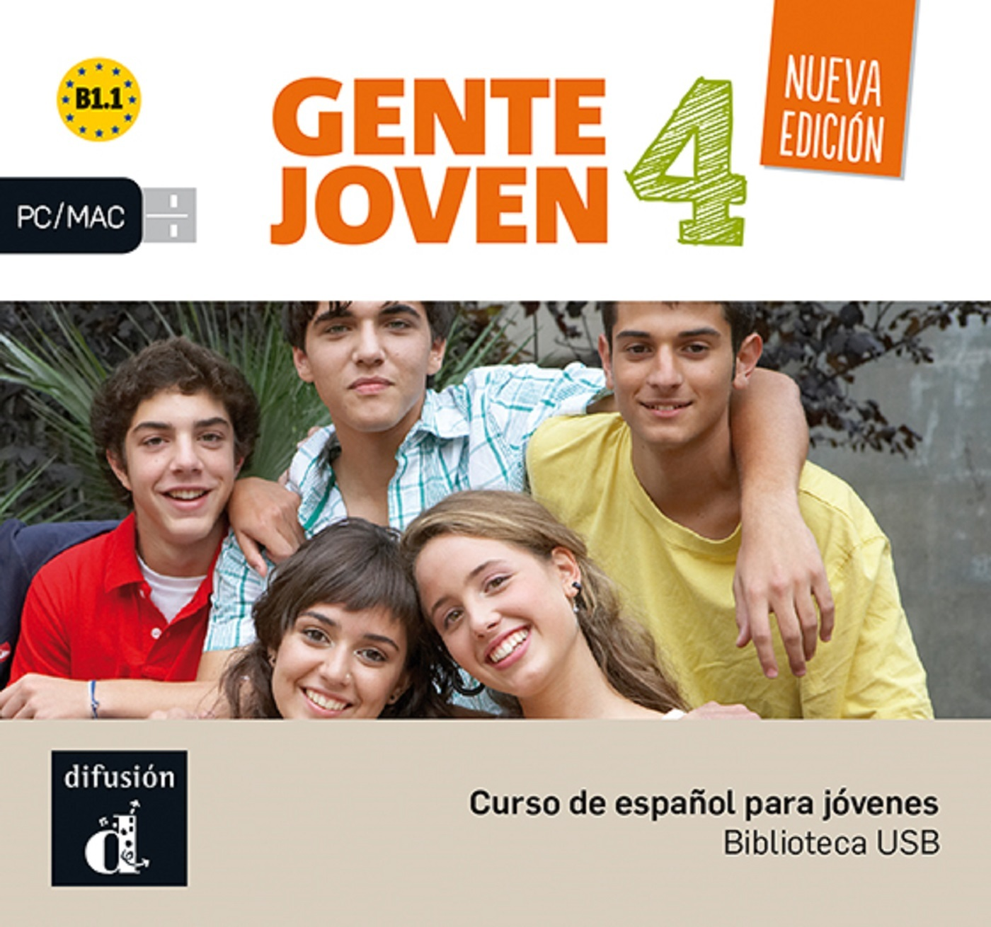 GENTE JOVEN 4 - CLE USB NED