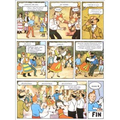 TINTIN ET LE LAC AUX REQUINS (ESPAGNOL NE 2011)