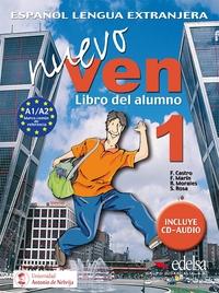 NUEVO VEN 1 - LIVRE ELEVE + CD