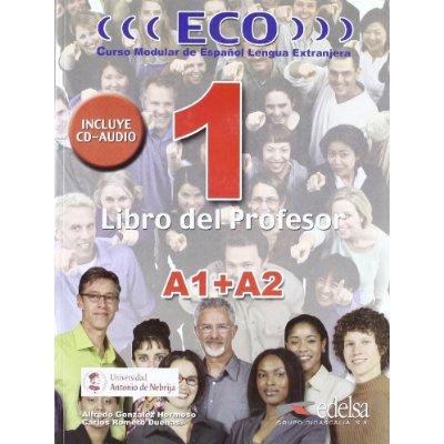 ECO 1 (A1+A2) PROFESSOR + CD AUDIO