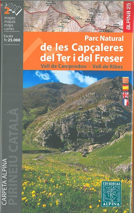 P.N. DE LES CAPCALERES  1/25.000 (2 CARTES)