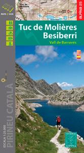 TUC DE MOLIERES - BESIBERRI - 1/25.000