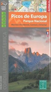 PICOS DE EUROPA - PARQUE NACIONAL (2 CARTES) - 1/2