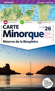MINORQUE, RESERVE BIOSPHERE  1/60.000