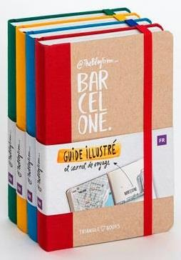 PACK 4EX THEBLOGFROM...BARCELONE CARNET DE VOYAGE