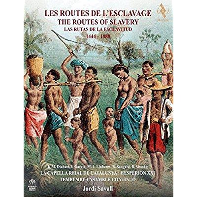 LES ROUTES DE L'ESCLAVAGE2CD + 1 DVD