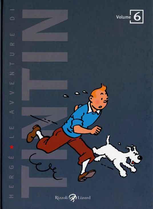 TINTIN EN ITALIEN VOLUME 6 (ED 2011)
