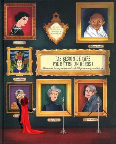 PAS BESOIN DE CAPE POUR ETRE UN HEROS ! - DECOUVRE LES SUPER-POUVOIRS DE 20 PERSONNAGES CELEBRES