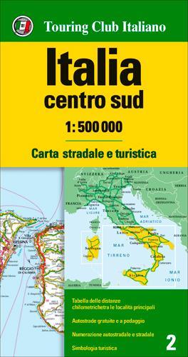 ITALIE CENTRE + SUD 1/500.000 (IT)
