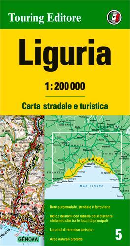 LIGURIE  1/200.000 (IT)
