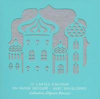 LES PLUS BEAUX CONTES - 12 CARTES DE VOEUX EN PAPIER DECOUPE AVEC ENVELOPPES