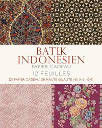 BATIK INDONESIEN PAPIER CADEAU