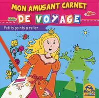 MON AMUSANT CARNET DE VOYAGE PETITS POINTS A RELIER