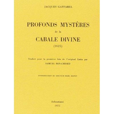 PROFONDS MYSTERES  DE LA CABALE  DIVINE