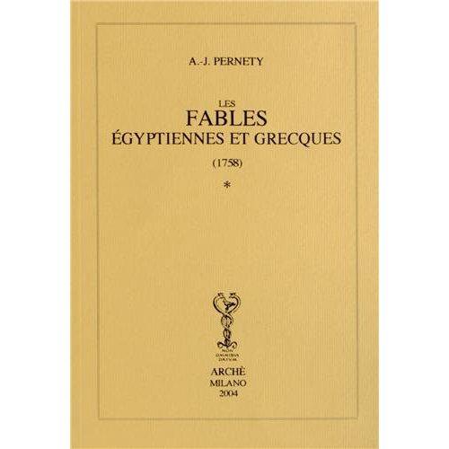 FABLES EGYPTIENNES ET GRECQUES (1758) EN DEUX TOMES