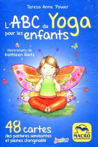 COFFET L'ABC DU YOGA POUR LES ENFANTS - 48 CARTES DES POSTURES AMUSANTES ET PLEINES D'ORIGINALITE