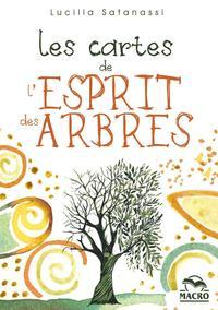 LES CARTES DE L'ESPRIT DES ARBRES - COFFRET DE 65 CARTES ILLUSTREES VOUS GUIDENT A LA DECOUVERTE DES