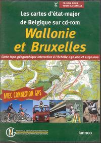 CARTE TOPO WALLONIE BRUXELLES