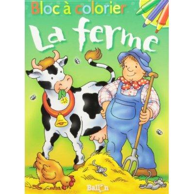 BLOC A COLORIER - LA FERME