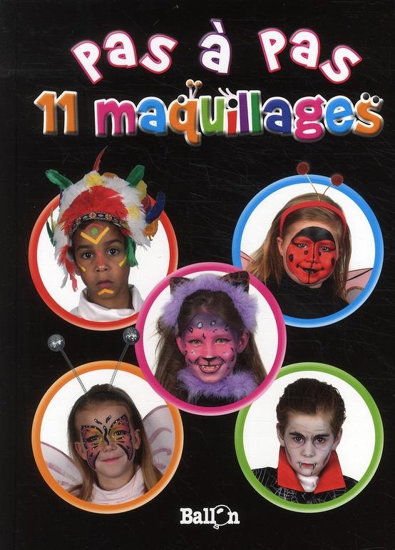 PAS A PAS 11 MAQUILLAGES