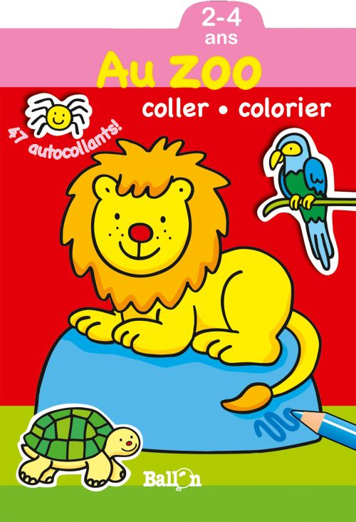 COLLER COLORIER - LE ZOO (2-4 ANS)