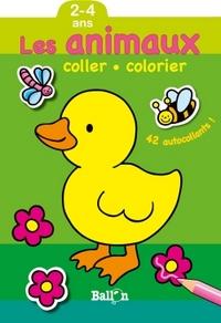 COLLER COLORIER- ANIMAUX DE LA FERME(2-4 ANS)