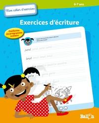 EXERCICES D'ECRITURE DES 6 ANS