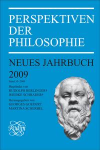 PERSPEKTIVEN DER PHILOSOPHIE. NEUES JAHRBUCH BAND 35 - 2009