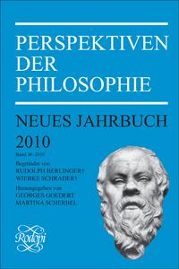 PERSPEKTIVEN DER PHILOSOPHIE. NEUES JAHRBUCH BAND 36 - 2010