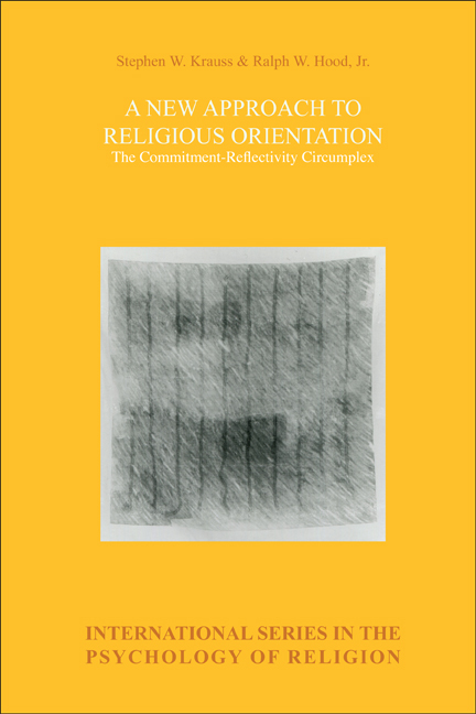 A NEW APPROACH TO RELIGIOUS ORIENTATION. THE COMMITMENT-REFLECTIVITY CIRCUMPLEX