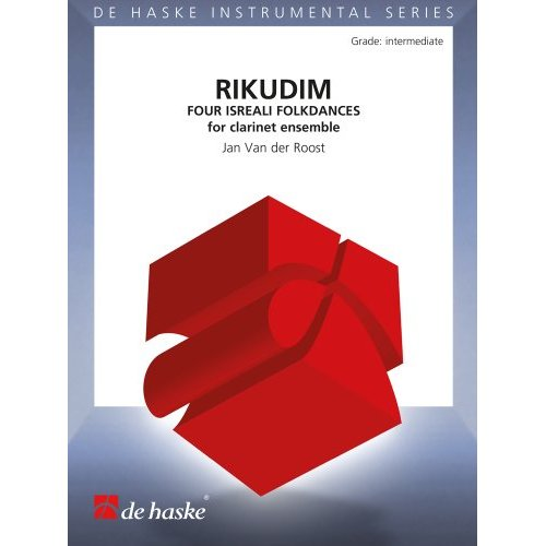 RIKUDIM (FOUR ISRAELI FOLKDANCES) CLARINETTE -PARTITION+PARTIES SEPAREES