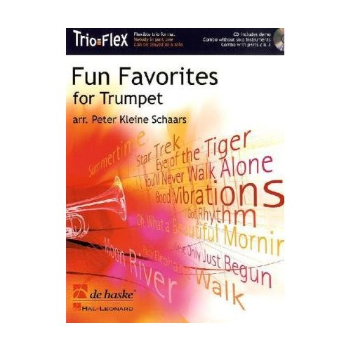 FUN FAVORITES FOR TRUMPET TROMPETTE +CD