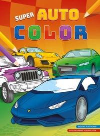 SUPER AUTO COLOR BLOC DE COLORAIGE