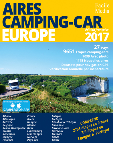 AIRES CAMPING-CAR EUROPE 2017