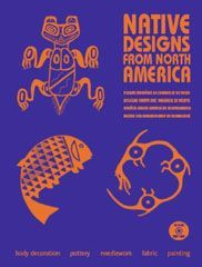 NATIVE DESIGNS FROM NORTH AMERICA - LIVRE + CD